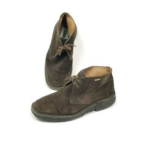 Base London Perry Desert Mens Size 8.5 Suede Boots